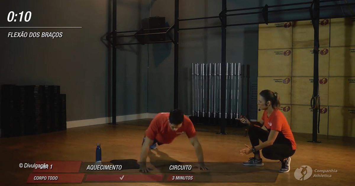 Rede Cia Athletica disponibiliza aulas em vídeos