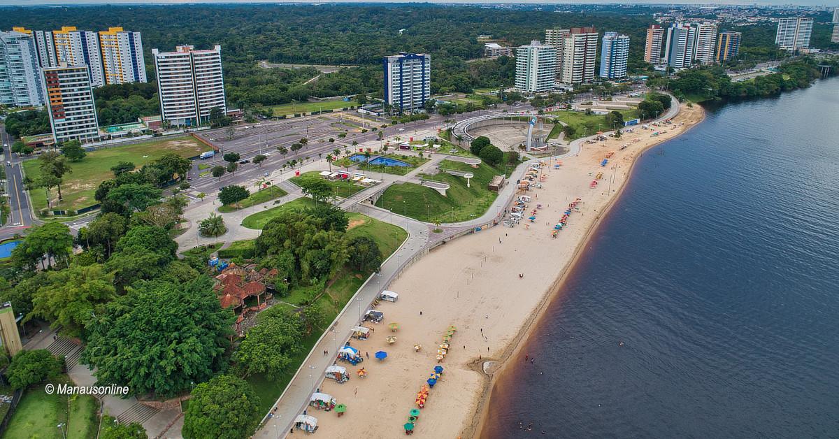 Prefeitura interdita a praia Ponta Negra por tempo indeterminado