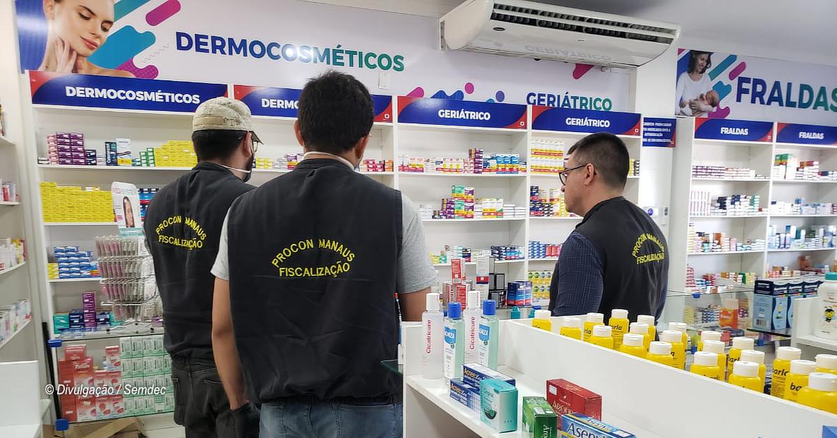 Após fiscalização do Procon, drogaria reduz em 34% o preço de máscara