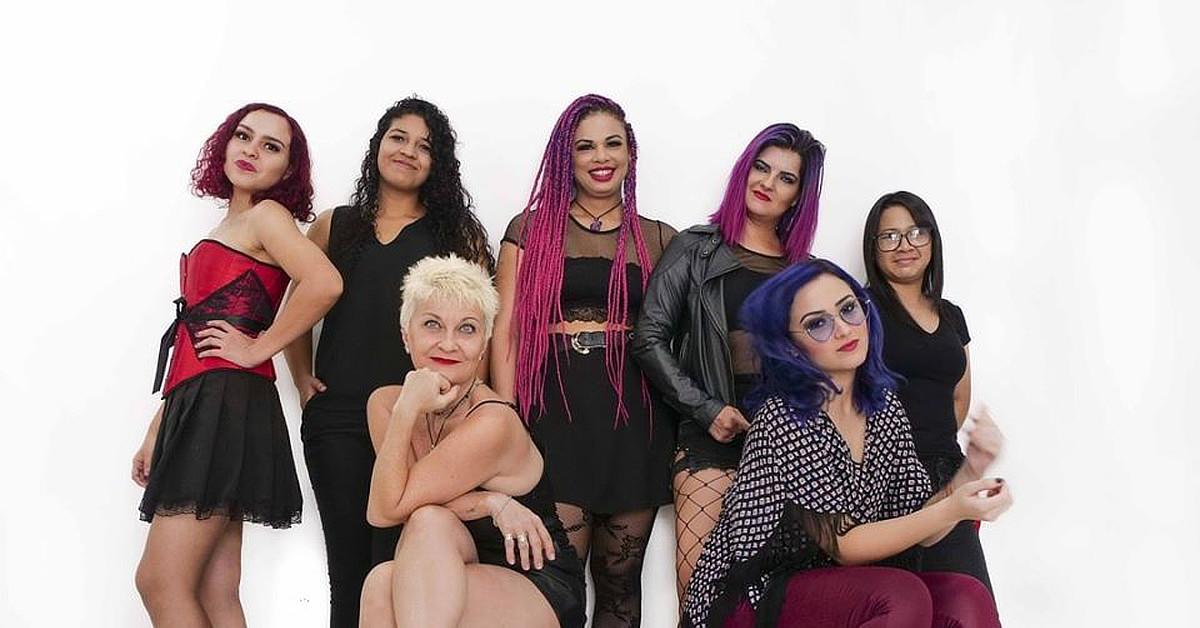 Banda The Marcianas é destaque da Feira da FAS no Dia da Mulher