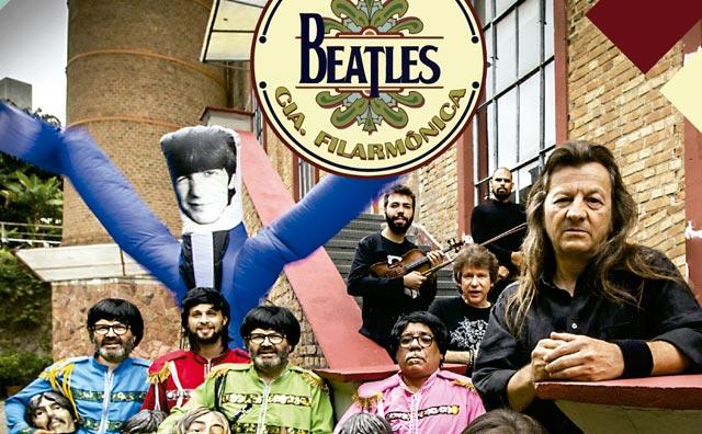 """""""Beatles segundo a Cia Filarmônica"""" na agenda do Teatro Manauara"""