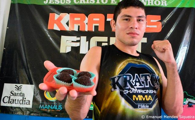Jordan Rocha: entre os brigadeiros e o sonho de estrelato no MMA
