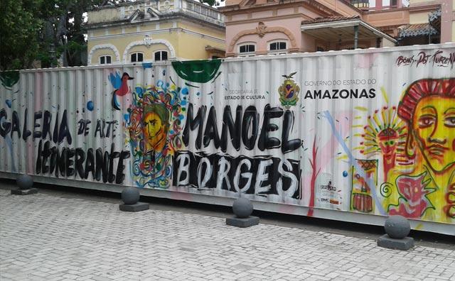 Arte Baré e Literatura se encontram no Largo de São Sebastião