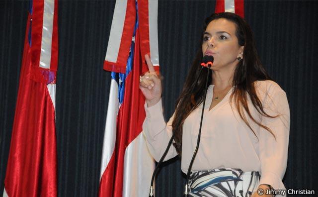 Deputada Alessandra critica Rock in Rio em Manaus