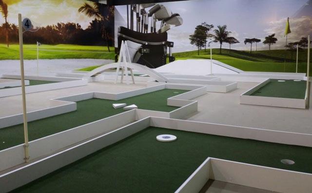 Manaus Plaza Shopping ganha pista de Mini Golf