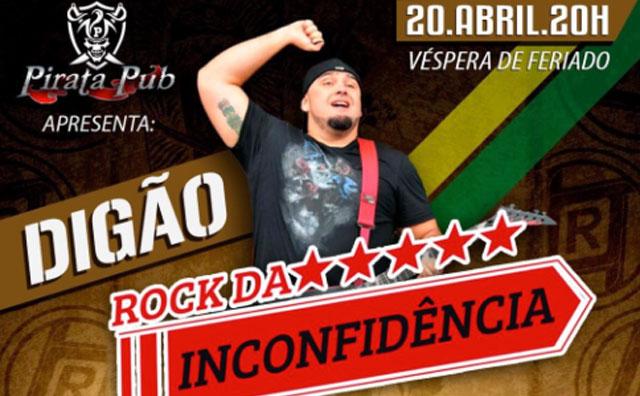 Digão dos Raimundos volta a Manaus para show no Pirata Pub