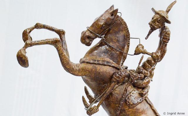 Paço da Liberdade estreia exposição sobre Dom Quixote