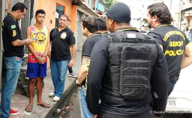 Equipe da SSP-AM prende foragido do Compaj acusado de roubo