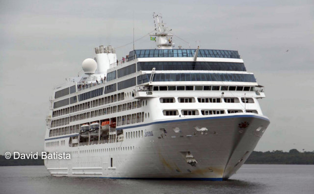 M/S Sirena retorna a Manaus nesta quinta-feira