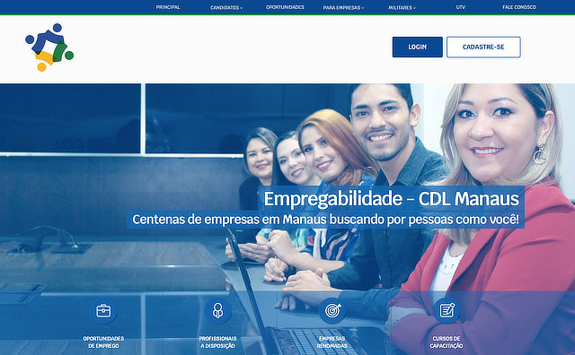O CDL Empregabilidade conecta o público junto às empresas e disponibiliza vagas no mercado