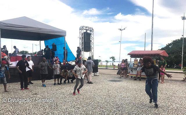 Primeira edição da Feira do Hip-Hop Manaus