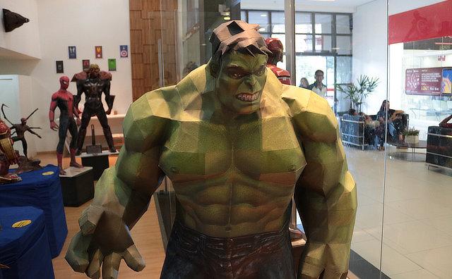 Evento no Millennium Shopping aborda universo de super heróis
