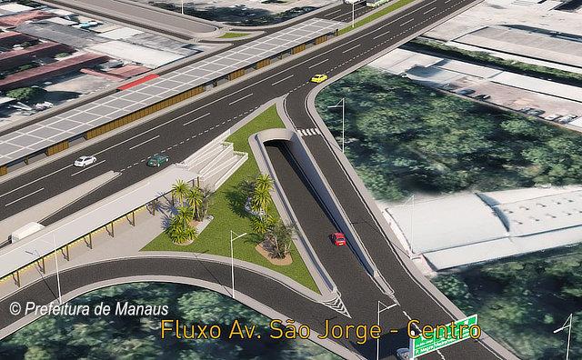 Prefeitura libera tráfego na Faixa Exclusiva da avenida Mário Ypiranga