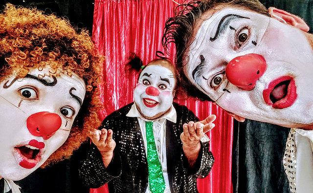Teatro Gebes Medeiros recebe o espetáculo Palhaços Surdos neste fim de semana