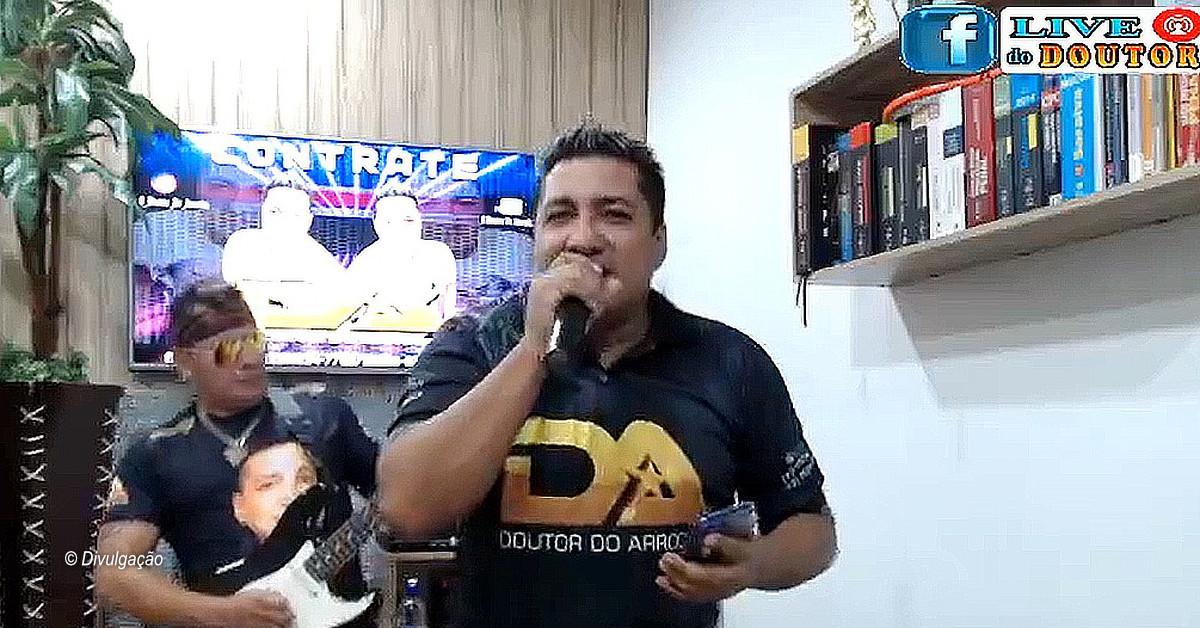 Doutor do Arrocha faz live para arrecadar alimentos para músicos