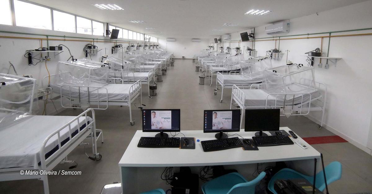 Novos leitos semi-intensivos estão disponíveis no Hospital de Campanha Gilberto Novaes