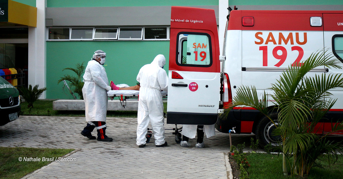 Prefeitura divulga boletim médico de pacientes internados no Hospital de Campanha