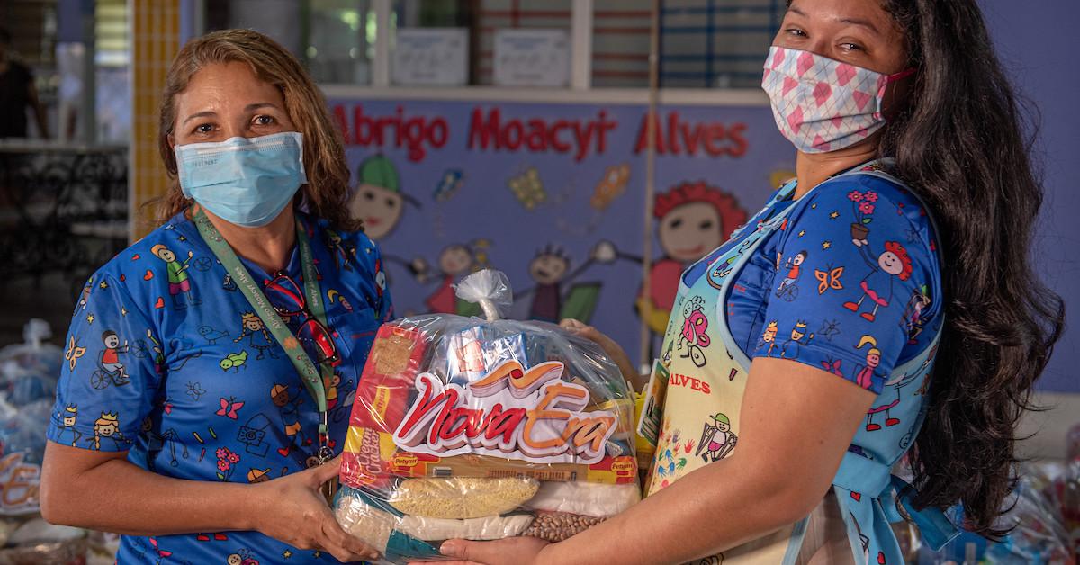 Instituições filantrópicas podem se inscrever para receber doações do Nova Era