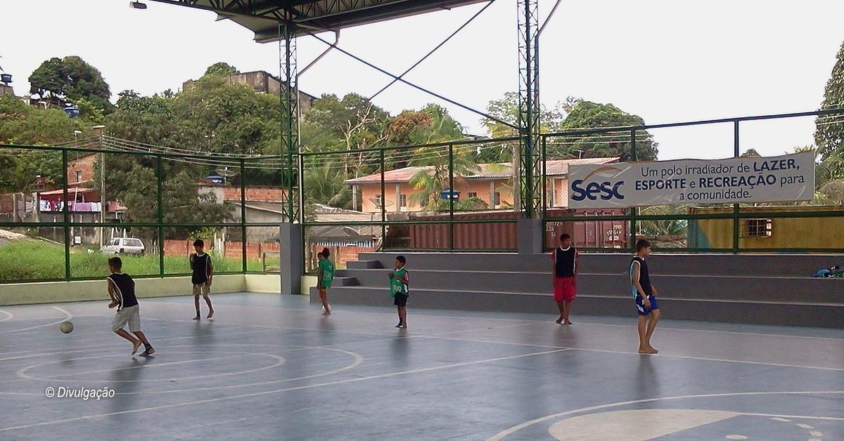 Sesc AM oferece vagas gratuitas no projeto Esporte ao Alcance de Todos
