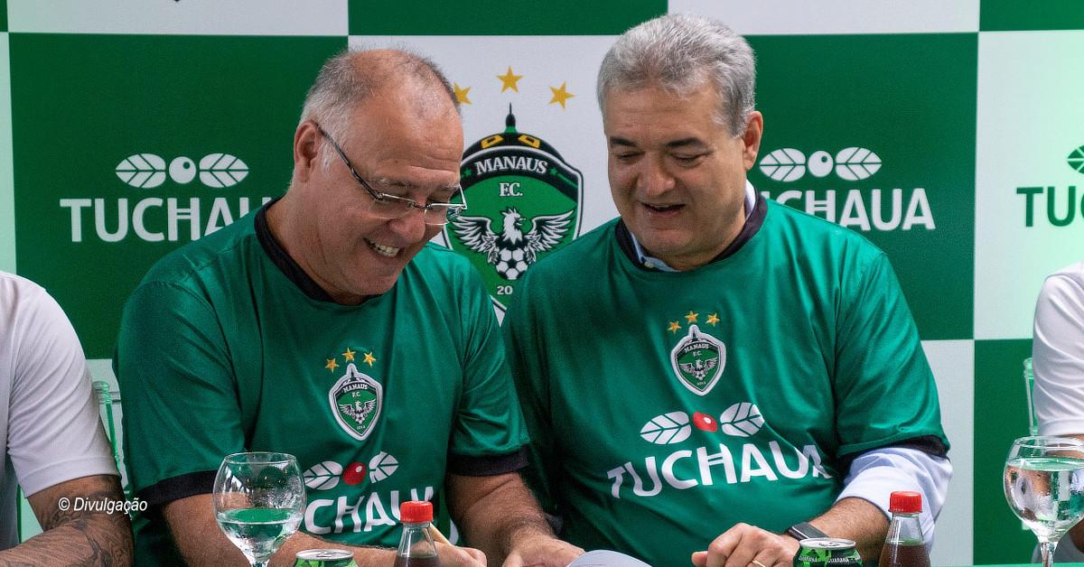 Guaraná Tuchaua renova contrato de patrocínio ao Manaus FC