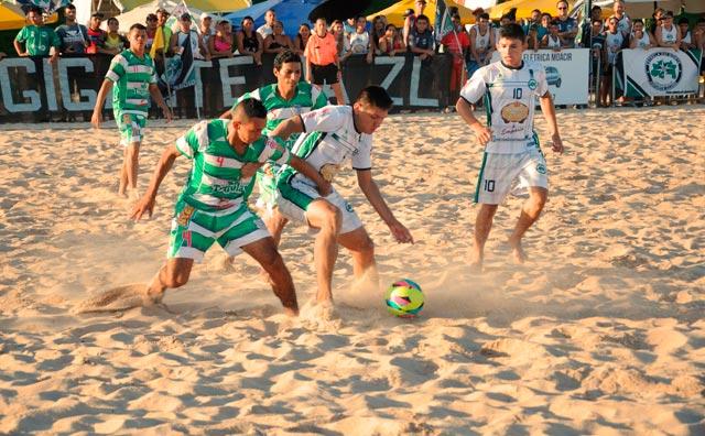 Estrela do Norte é campeão invicto da Copa Manaus de Beach Soccer