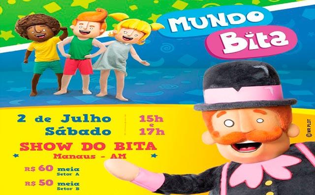 Show do Bita chega ao Teatro Manauara