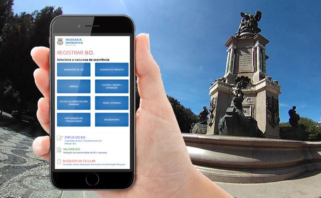 Novo site da Delegacia Interativa tem mais recursos.