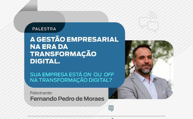 Transformação digital nas empresas será tema de palestra promovida pela Sapiens FGV