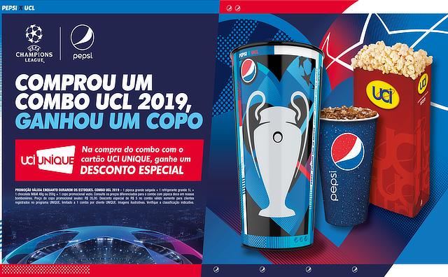 UCI Cinemas transmite ao vivo final da Liga dos Campeões da UEFA