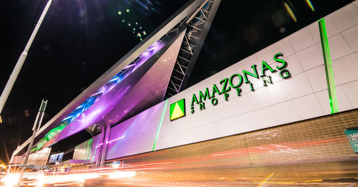 Amazonas Shopping lança drive-thru, dando opção para os clientes pegarem suas compras