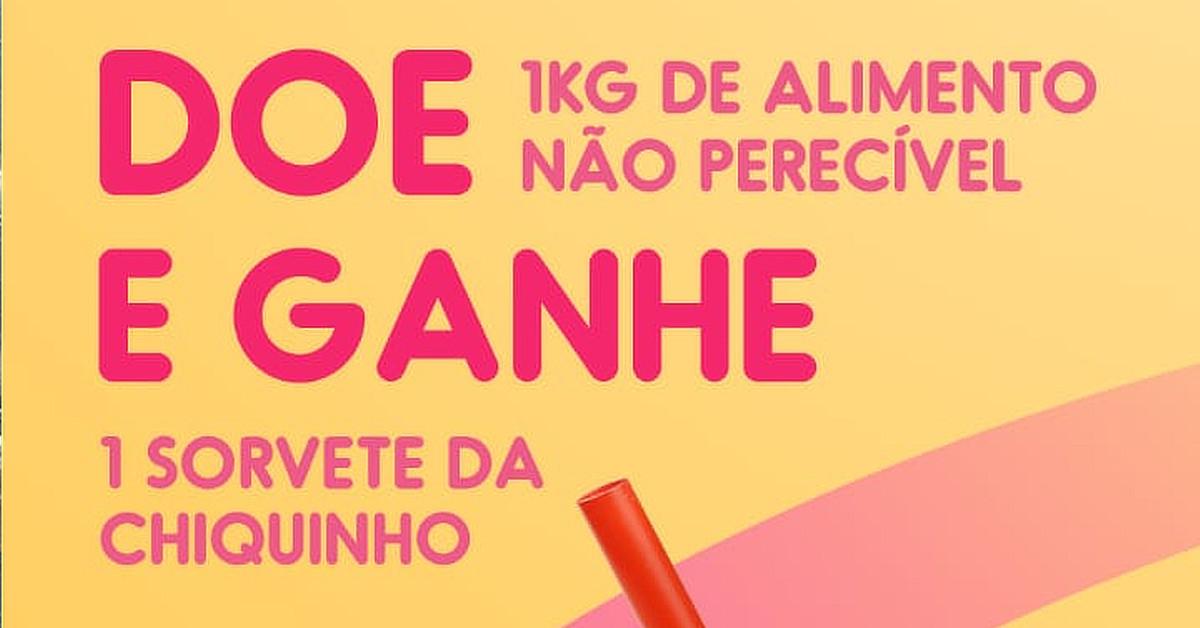 O Shopping Manaus ViaNorte realiza o Drive Solidário em parceria com a Chiquinho Sorvetes.