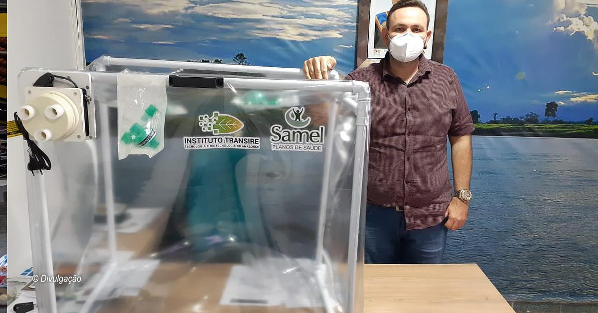 Covid-19: Cápsula Vanessa será utilizada para atender pacientes em Eirunepé