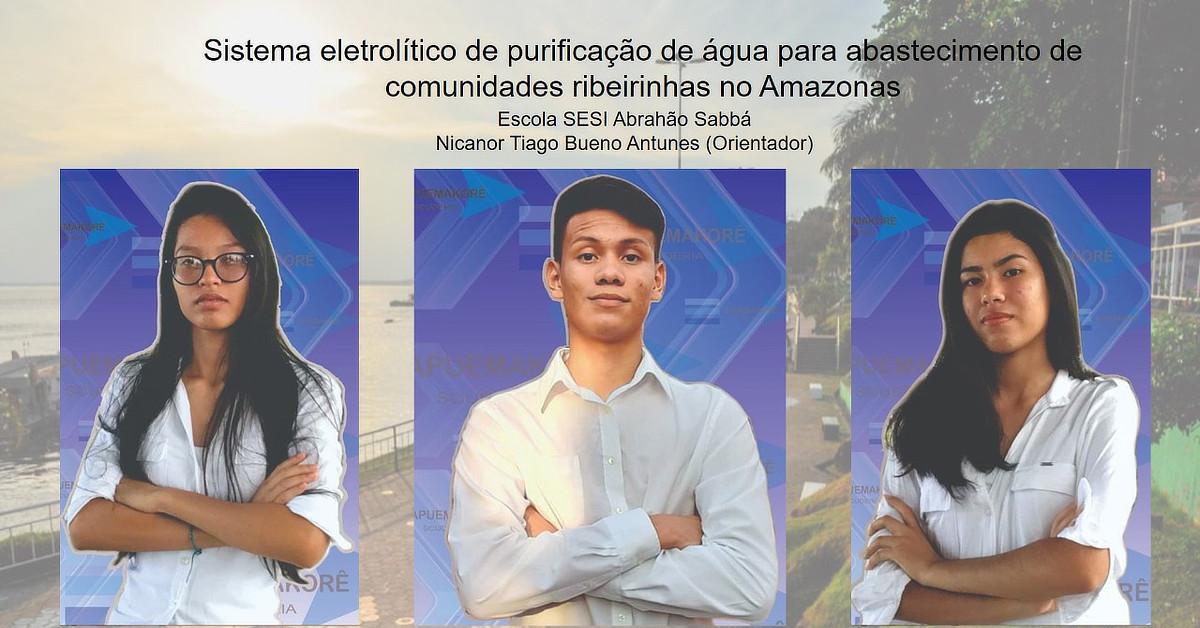 Amazonas é um dos finalistas da Feira Brasileira de Ciência e Engenharia da USP