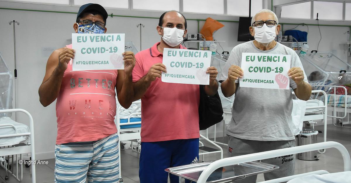 Hospital de campanha municipal inicia a semana com 21 altas médicas