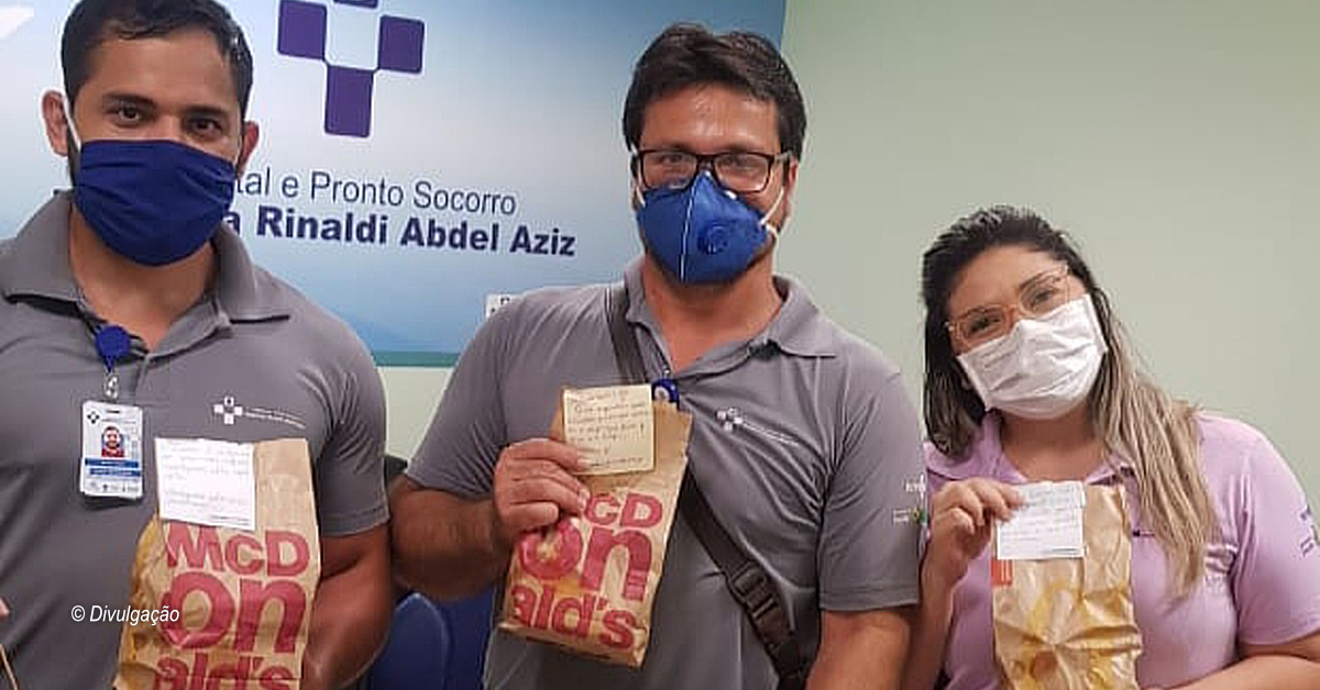 McDonald's doa refeições em Manaus na campanha McObrigado