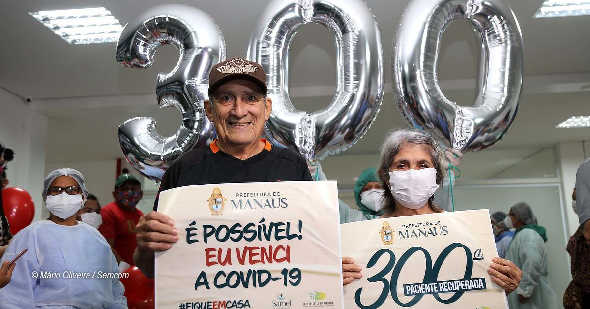 Mais de 300 pacientes vencem a Covid-19 e recebem alta do hospital de campanha municipal