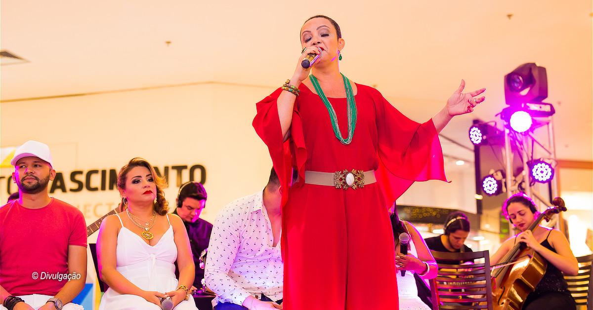 Show da cantora Fátima Silva e sorteio de brindes serão as atrações no Millennium Shopping
