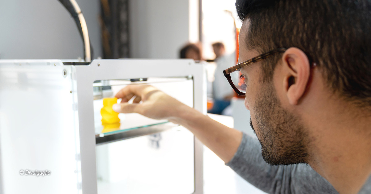 Curso ensina teoria e prática sobre modelagem de impressão 3D