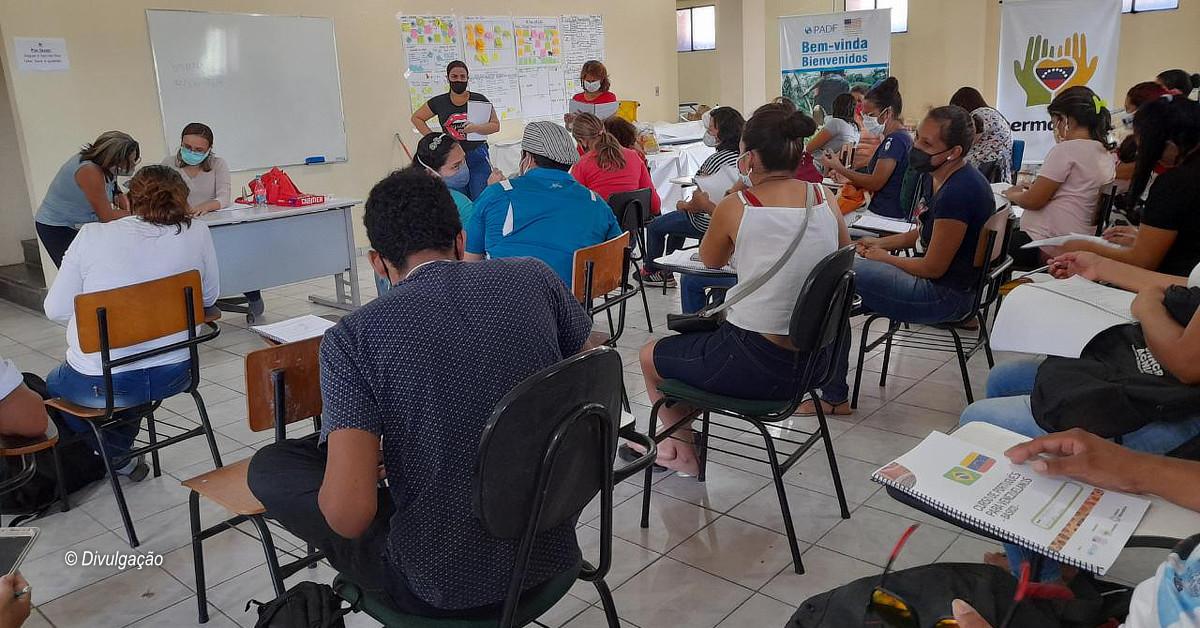 ONG Hermanitos oferece cursos gratuitos para venezuelanos