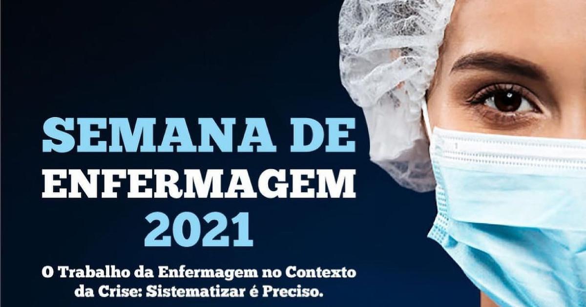 Semana de Enfermagem vai debater rumos e perspectivas da profissão na pandemia