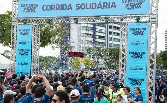 Corrida Solidária Samsung reúne cerca de 7 mil participantes