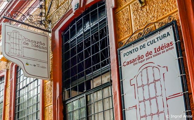 Atrizes promovem oficina teatral no Casarão de Ideias