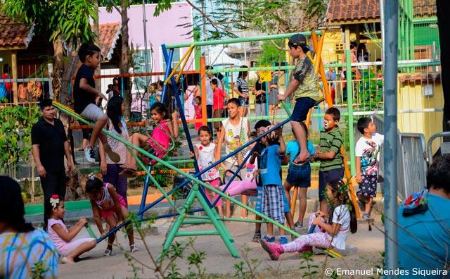 Fim de semana caipira no Parque Cidade da Criança