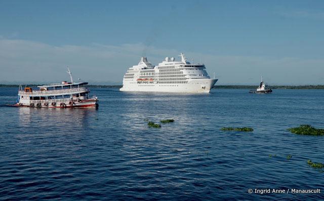 M/S Seven Seas Navigator encerra Temporada de Cruzeiros em Manaus