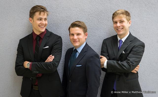 Trio norte-americano de violões Mobius se apresenta dia 6