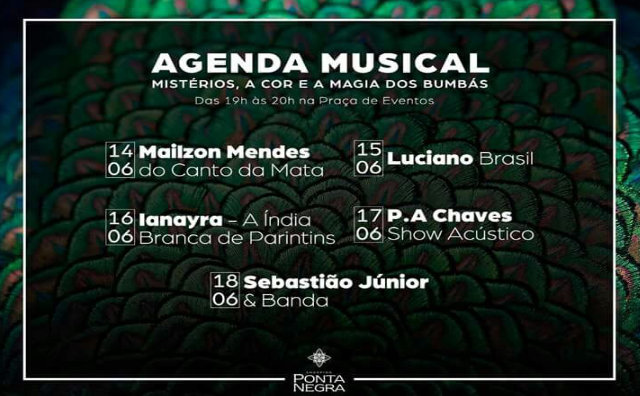 Luciano Brasil é a grande atração desta quinta-feira (15)