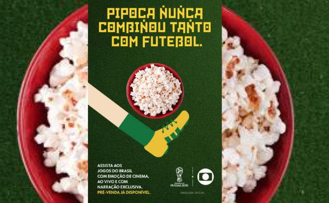 Jogos do Brasil na Copa do Mundo da FIFA™ Rússia 2018 no UCI