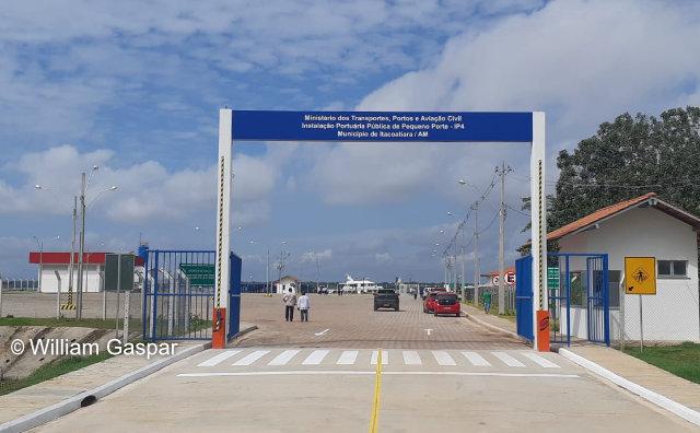 Itacoatiara ganha maior porto do interior Amazonas