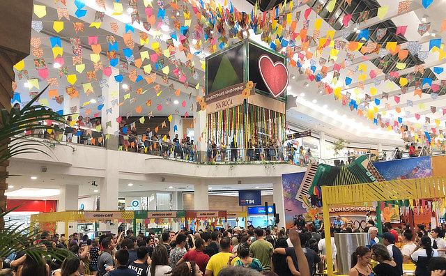 Arraial do Amazonas Shopping entra em clima de boi bumbá, com a proximidade do Festival