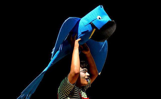 Espatódea Trupe comemora três anos com mostra de repertório no Teatro Amazonas